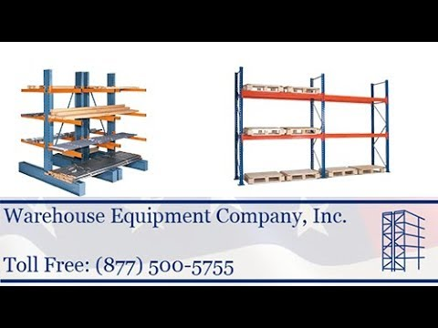 Pallet Rack Shelving - New | Used Pallet Rack Shelving