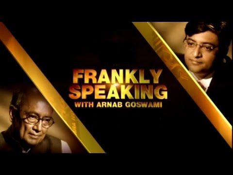 Frankly Speaking with Digvijaya Singh - Full Interview