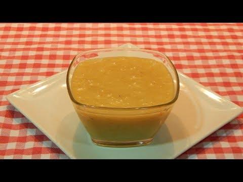 Salsa de miel y mostaza Receta fácil y rápida en solo 3 minutos