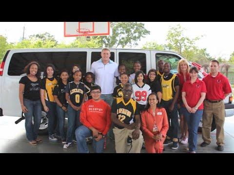 Why JJ Watt Foundation Targets Middle School Children