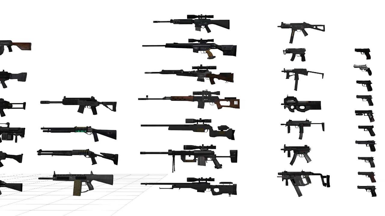 SF2 Weapon 【MMDアクセサリ】