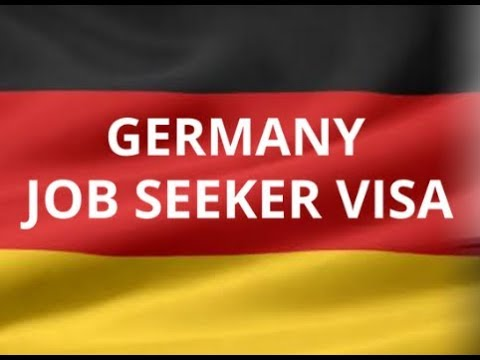 Apply For Germany Job Seeker Visa By Yourself