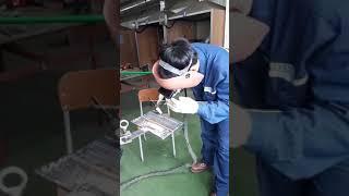 부산용접전기직업학교 tig용접