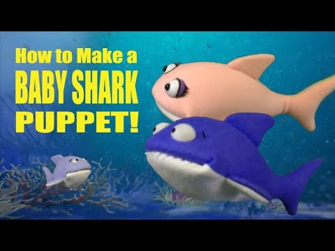 How To Make A Baby Shark Puppet!