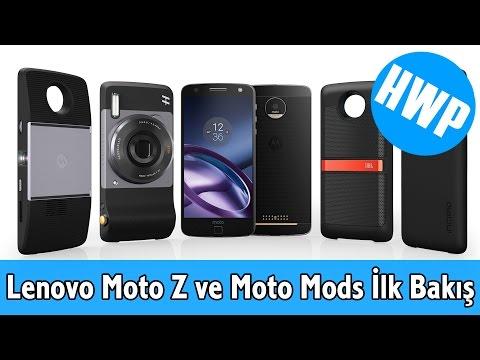Lenovo Moto Z ve Moto Mods İlk Bakış Videosu