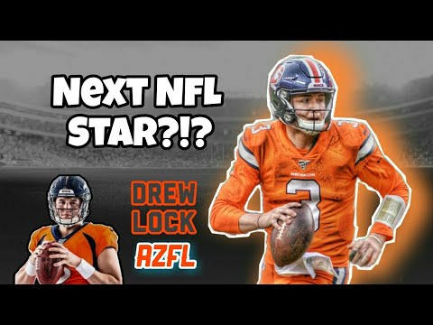 Why Drew Lock Is The Next NFL Star! Primed For Success