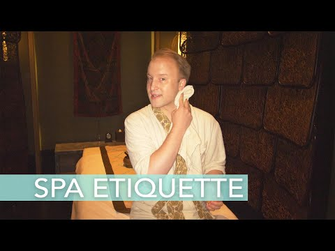 How to behave in a spa