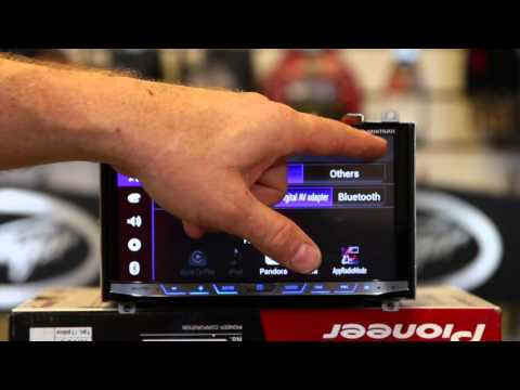 How to use Waze on a Pioneer's AVH 4100NEX Multi Media Radio