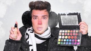 Макияж замороженной косметикой челлендж Джеймс Чарльз на русском