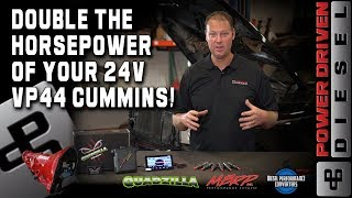 Double the Horsepower of your 24 Valve Cummins | Power Driven Diesel