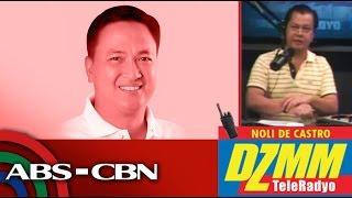 DZMM TeleRadyo: Lucena mayor: I can't choose my relatives