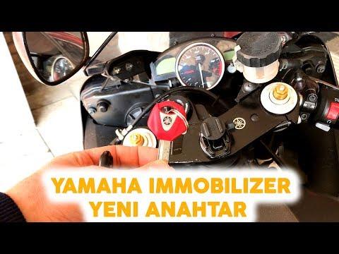 Yamaha R6 Immobilizer Yeni Anahtar Tanımlama