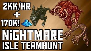 [Tibia Where to TEAMHunt – All 250+] Nightmare Isles (2kk/hr @ 300~ + 170k PROFIT!)
