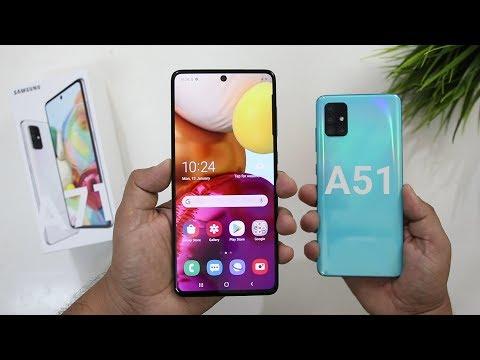Samsung A71 Vs A51 Comparison I Galaxy A71 Unboxing I Hindi
