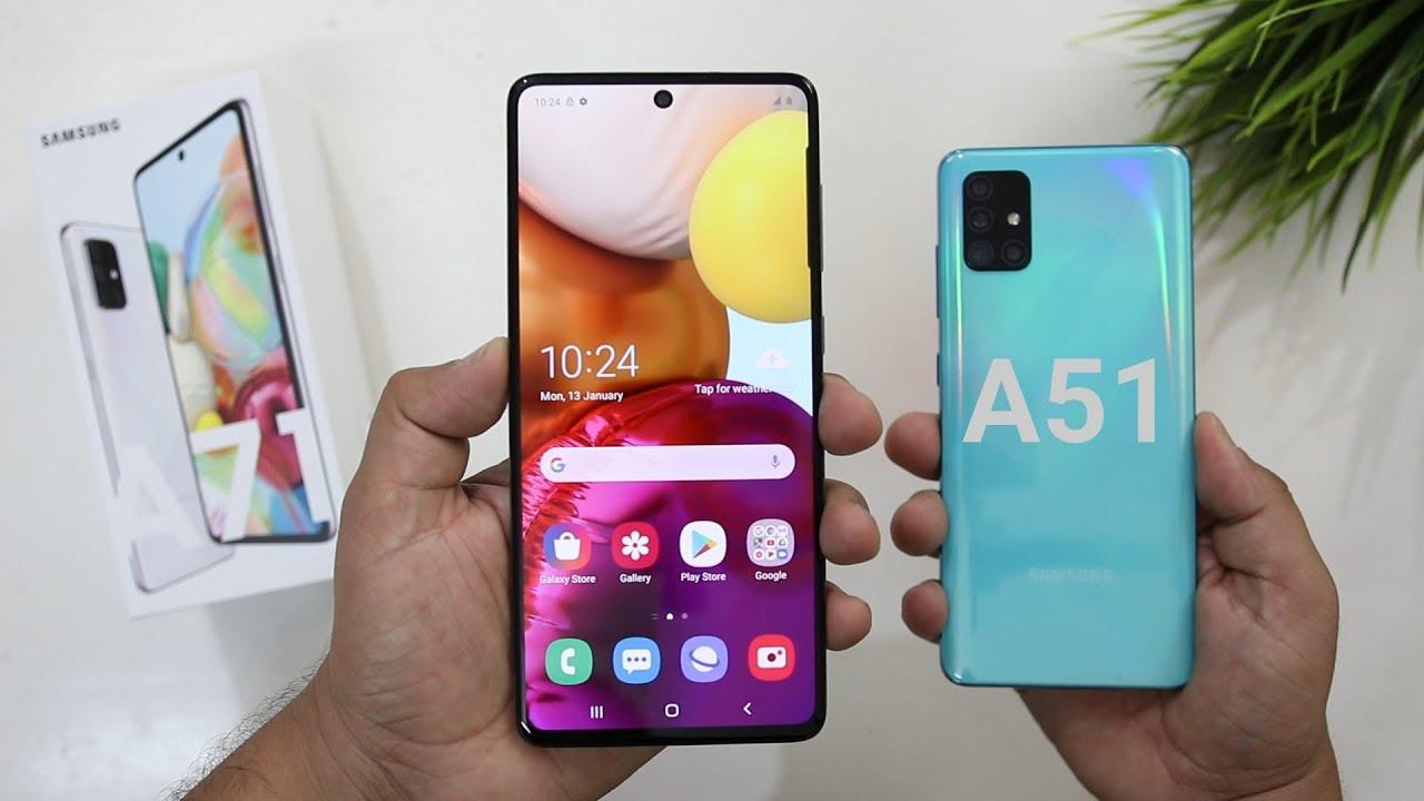 Photo of Samsung A71 Vs A51 Comparison I Galaxy A71 Unboxing I Hindi – سامسونج
