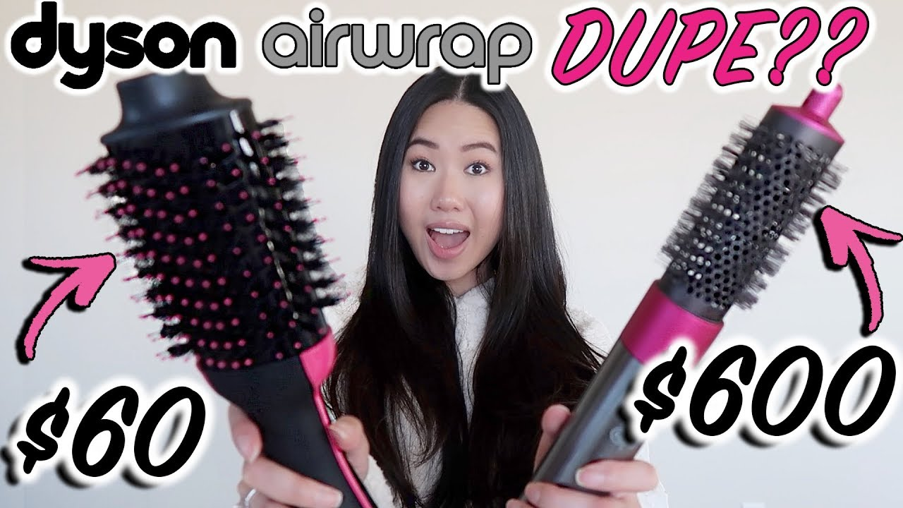 60 Dyson Airwrap Dupe Revlon One Step Hair Dryer And Volumizer Review Comparison Youtube
