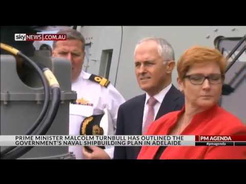 Australian naval shipbuilding, report