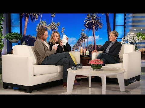 Tay Hamilton - Dax Shepard & Kristen Bell Had 'The Talk' with Their 5-Year-Old