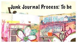 Journal Process Video: Altered Book Journal: Junk Journal Tutorial