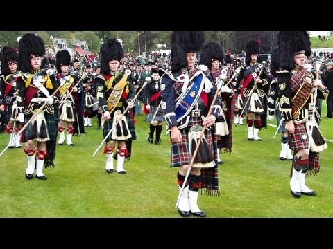 Highland Games-Braemar Gathering