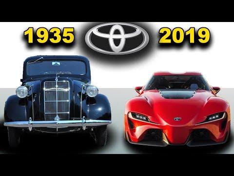 Toyota - Evolution (1935 - 2019)