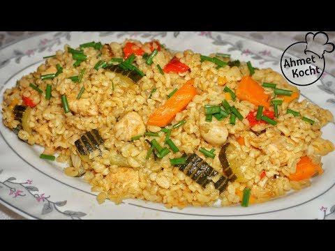 Bulgur mit Gemüse & Hähnchen | Ahmet Kocht | türkisch kochen | Folge 345