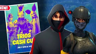 Trios Cash Cup Fortnite + Account Giveaway