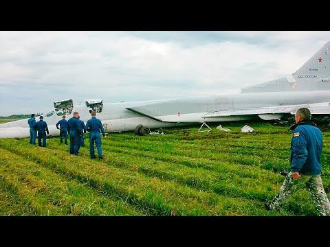 Video of the accident of the supersonic missile-bomber Tu-22M3
