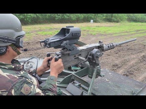 Philippine Army Modernization: APC .50cal Machinegun Red Dot Sight System
