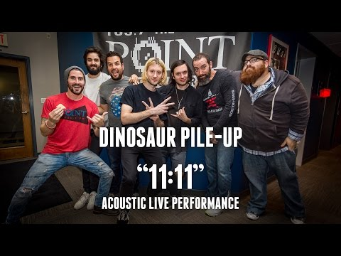 Dinosaur Pile-Up - 11:11 - acoustic performance on 105.7 The Point