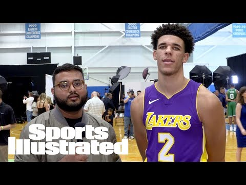 Lonzo Ball Opens Up About LeBron Possibly Joining Lakers, His Z02 Shoes & More | Sports Illustrated
