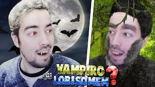 SER VAMPIRO OU LOBISOMEM (PARA O RESTO DA VIDA)?!