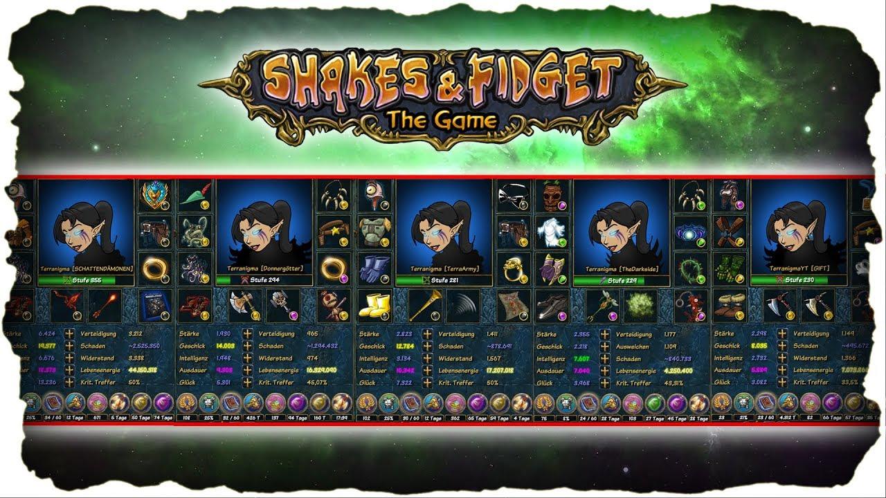 Shakes And Fidget W22