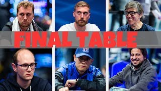 The Final Table is Set for the 2019 PokerStars and Monte-Carlo®Casino EPT