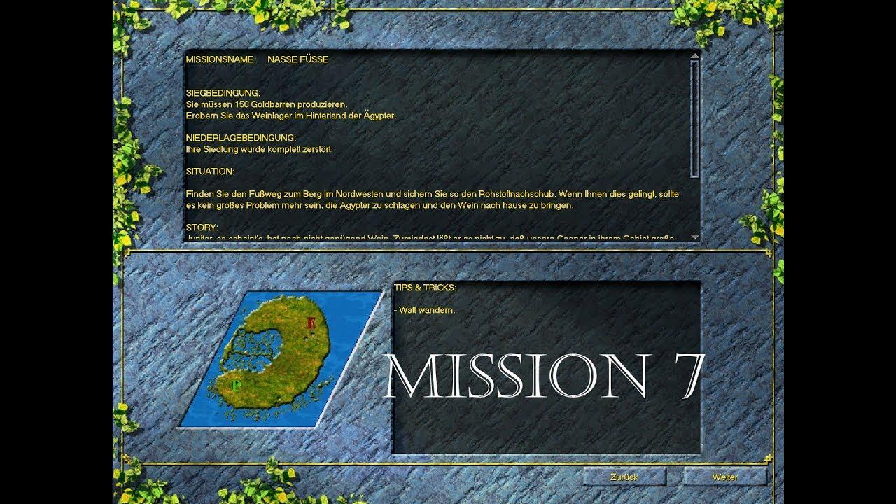 Lets Play Die Siedler 3 History Edition Cd Mission Römer