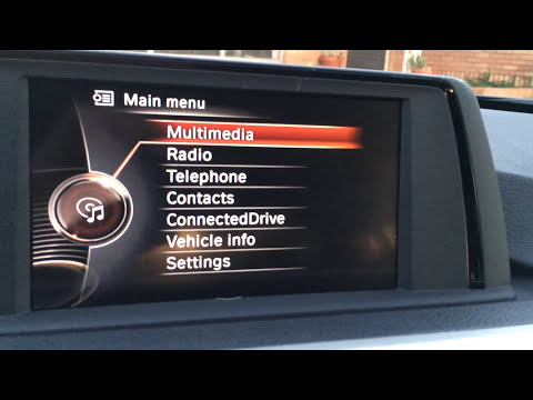 How to navigate and use the BMW Infotainment  system