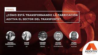 ¿Cómo está transformando la fabricación aditiva el sector del transporte? |ADDITIV Movilidad