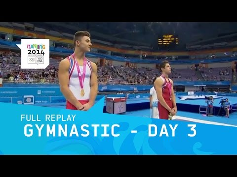 Gymnastics Artistic - Men's Individual All Around | Full Replay | Nanjing 2014 Youth Olympic Games