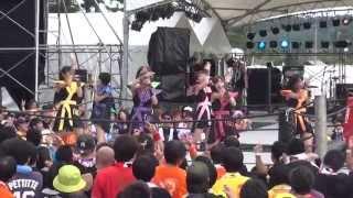 AOMORI ROCK FESTIVAL '13 ~夏の魔物~ リングの魂ステージ アップアップガールズ(仮)