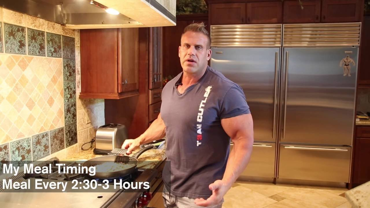 Meal Time With Jay Cutler