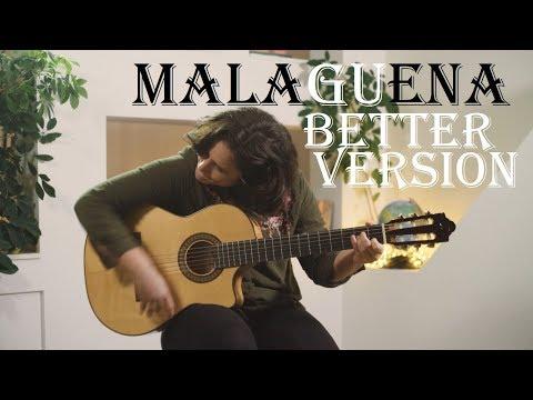 Malaguena flamenco guitar (better version) with TAB!