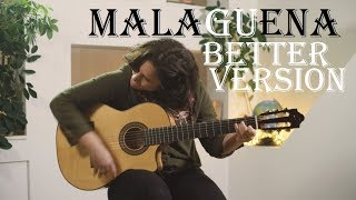 Malaguena flamenco guitar (better version) with TAB!