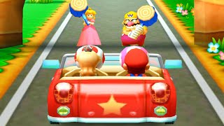 Mario Party The Top 100 - Rosalina & Mario vs Peach & Wario(Very Hard Difficulty)| Cartoons Mee