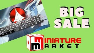 Rob's Big Miniature Market Sale Annoucement!