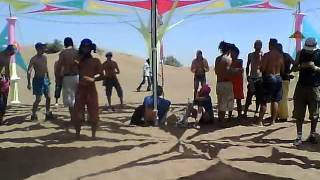 Part 2 of Set Djane Anymel @ Zagoa Festival in the Desert of Marocco 2012.MP4