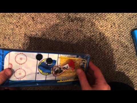 Finger board games ice hockey