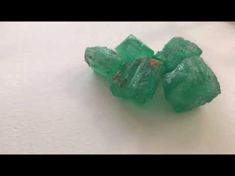 Fine quality rough Panjshir Emerald