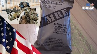 Сухпай USA MRE вар. 14 вегетарианский Сухой паёк Американской Армии
