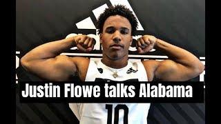 Justin Flowe talks interest in Alabama Football