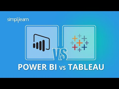 Power Bi vs Tableau   Power Bi And Tableau Difference   Power Bi And Tableau Comparison  Simplilearn